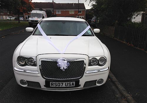 wedding car yorkshire